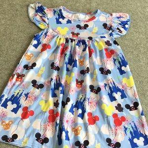 Other - Girls Disney print dress size 4T